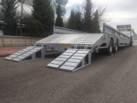 New 2 axles lowbed trailer