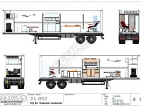 Mobile Hospital Container Configuration