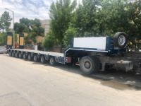 9 Axles Lowbed Trailer