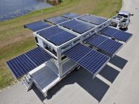 Containerised solar power systems