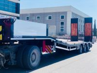 3 Axles Lowbed Trailer - Hydraulic Platform