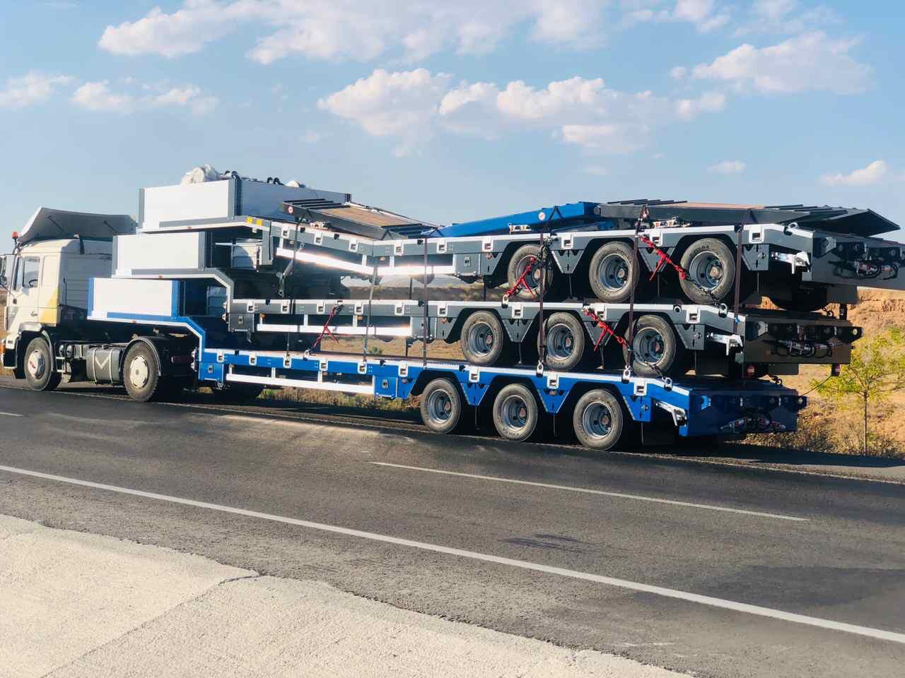 lowbed shipment 3axle