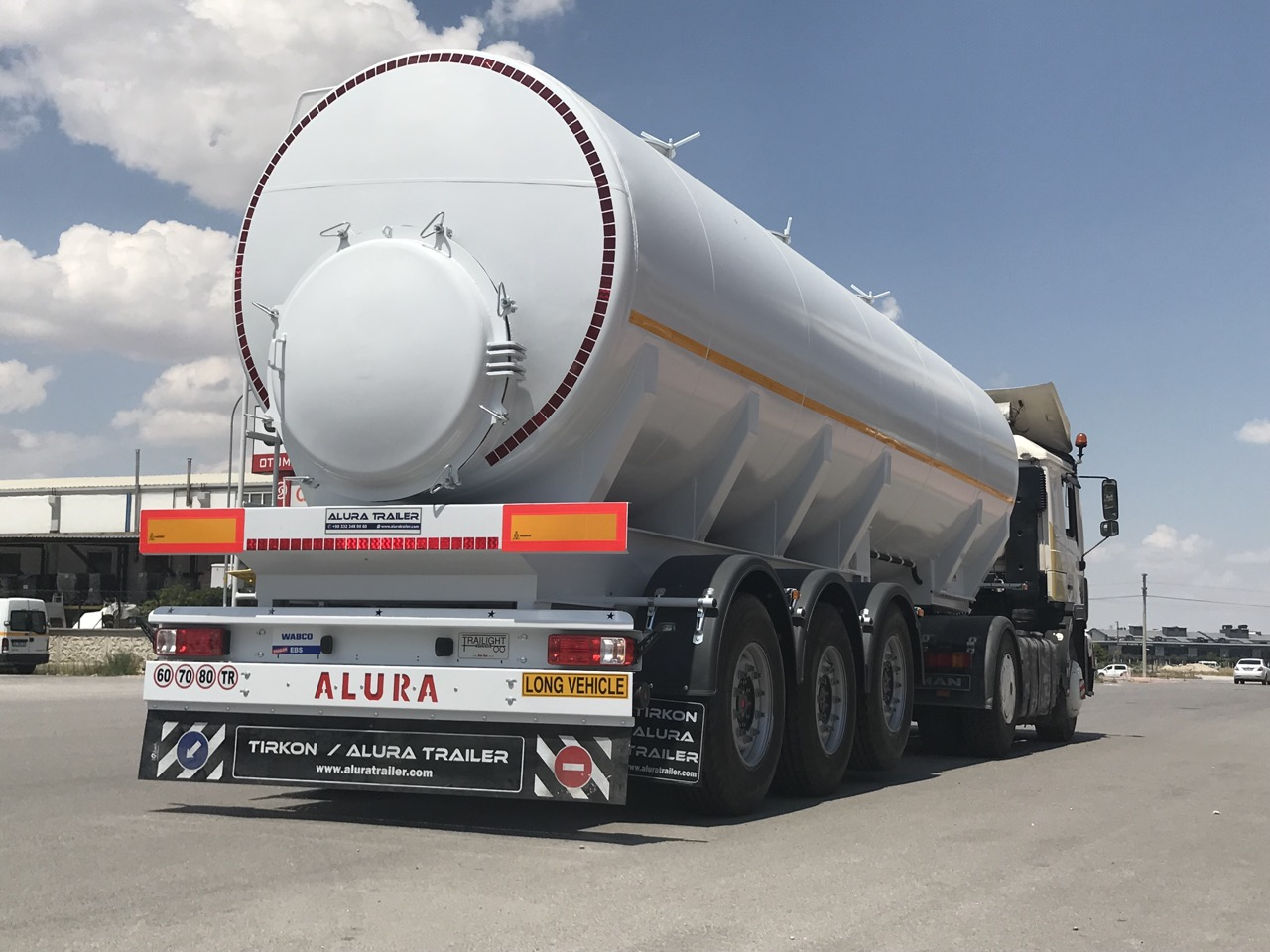 waste transport tanker