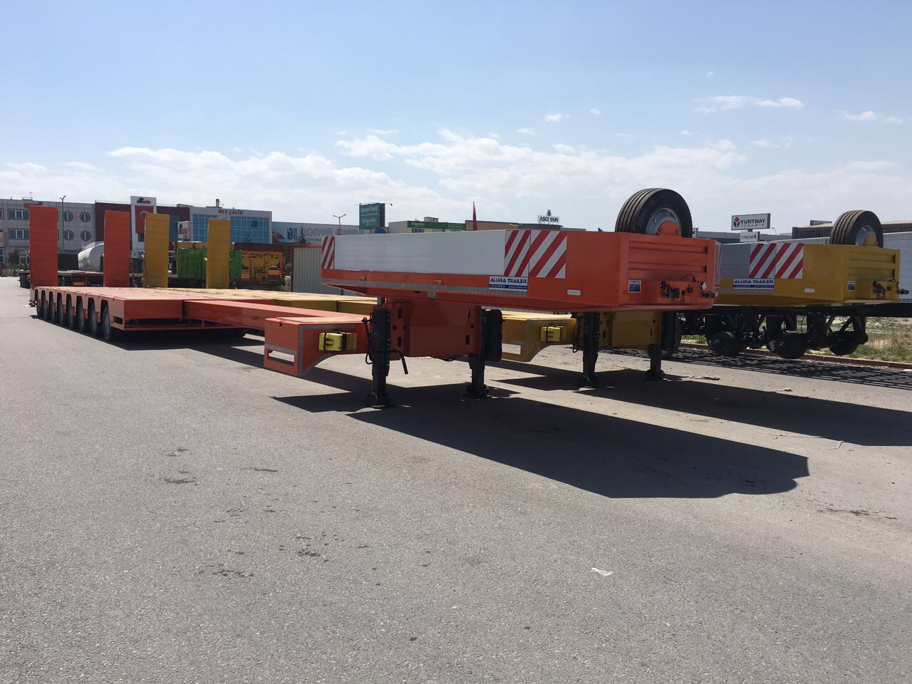 extendable lowbed trailers for sale